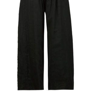 BLACK LOOSE DKNY DRAWSTRING PANTS PJS